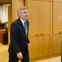 Seimo pirmininkas Estijoje dalyvaus ES parlamentų vadovų susitikime