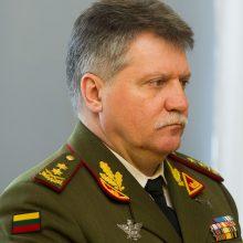 Šalies kariuomenės vadovai JAV aplankė ten besitreniruojančius Lietuvos karius
