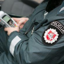 Rokiškyje per avariją nužaloti du policininkai