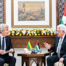 V. Pranckietis pakvietė palestiniečius Lietuvoje steigti atstovybę