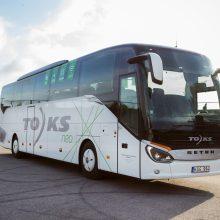 TOKS keičiasi: perka modernius autobusus, atnaujino prekės ženklą
