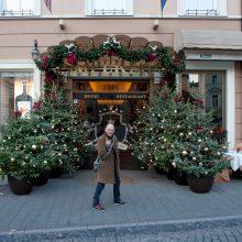 Sostinė dar nesulaukė Vėlinių, bet jau rengiasi Kalėdoms