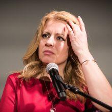 Slovakijos prezidento rinkimų pirmąjį ratą laimėjo advokatė Z. Čaputova