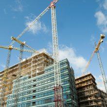 Statybos darbai Lietuvoje nelėtėja
