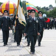 Beveik 4 tūkst. Lietuvos pasieniečių mini profesinę šventę
