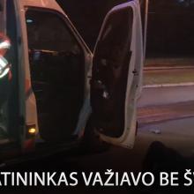 Vilniuje automobilis sužalojo nematomą dviratininką