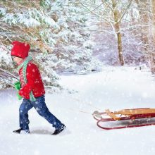 Orai: panašu, jog įvyks Kalėdų stebuklas – per šventes turėsime sniego