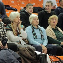 Lietuvos moterų rankinio lygos lyderių dvikovą laimėjo žalgirietės