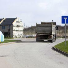 Tauralaukio gatvėje prašo eismo apribojimų