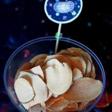 Sveikesnių vaišių idėjos: vietoj saldėsių – kosminiai užkandžiai