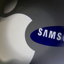 """""""Apple"""" ir """"Samsung"""" baigė septynerius metus trukusį karą"""