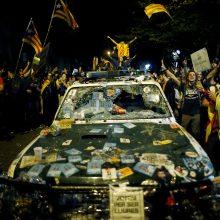 Katalonijoje separatistai skelbia nuolatinę mobilizaciją protestams