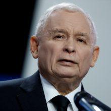 """Valdančiųjų lyderis: Lenkijos """"priešai"""" bando kurstyti antisemitizmą"""
