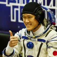 Japonų astronautas pranešė išaugęs 9 centimetrais
