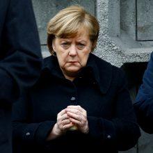 A. Merkel perspėja dėl Kinijos įtakos Balkanuose