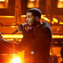 """Reperis Drake'as pagerino dar vieną """"The Beatles"""" rekordą"""