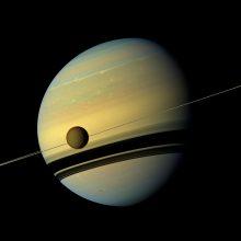Saturno žiedai – gerokai jaunesni už planetą