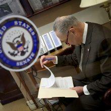 JAV Senatas priėmė federalinių išlaidų įstatymą