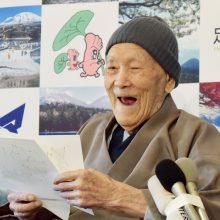 Mirė seniausias pasaulyje vyras