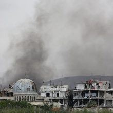 Rusija blokavo JT pastangas ištirti numanomą cheminę ataką Sirijoje