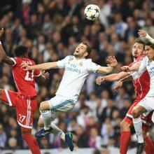 """""""Real"""" futbolininkai iškopė į Čempionų lygos finalą"""