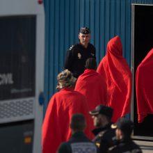 Ispaniją pasiekė laivas su 311 prie Libijos krantų išgelbėtų migrantų