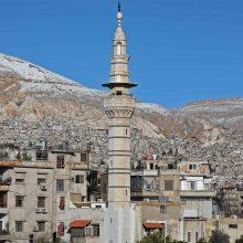 """Per """"milžinišką sprogimą"""" Sirijos sostinėje žuvo žmonių"""