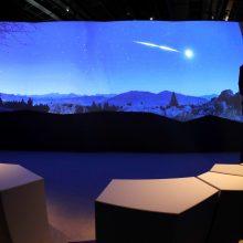 Mokslininkai skuba apskaičiuoti švytinčio Arkties meteorito trajektoriją