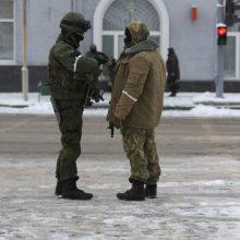 Per susirėmimus Rytų Ukrainoje žuvo penki vyriausybės pajėgų kariai