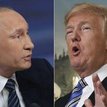 JAV žiniasklaida: D. Trumpas ir V. Putinas gali susitikti liepą