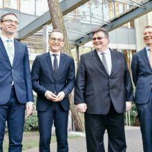 L. Linkevičius: su Vokietija laikomės tų pačių vertybių