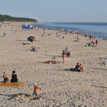 Palangos paplūdimyje per savaitgalį buvo pasimetę apie 40 vaikų