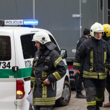 Gaisras Vilniaus dangoraižyje galėjo baigtis tragedija
