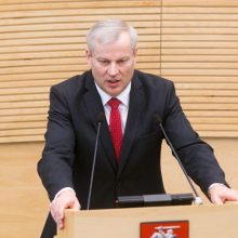 Mandato atsisakęs M. Bastys sieks sugrįžti į Seimą dar šioje kadencijoje