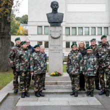 Kaune pagerbtas Šaulių sąjungos įkūrėjas V. Putvinskis-Pūtvis