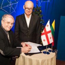 Kauno ir Tbilisio kūrybinė bendrystė sustiprinta sutartimi