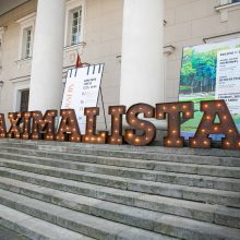 """Dėl """"Šimtmečio Maximalisto"""" vardo varžėsi daugiau nei 500 moksleivių iš visos Lietuvos."""