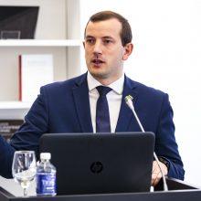 V. Sinkevičius su Ukrainos ambasadoriumi aptars eksporto didinimo perspektyvas