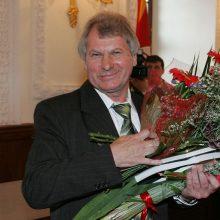Dailininkui ir žurnalistui V. Beresniovui įteiktas pirmasis Žurnalistinis ordinas