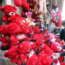 Valentino dienos kuriozai iš viso pasaulio