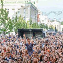 """""""Sostinės dienų"""" variklis – daugybė koncertų keturiose festivalio scenose"""