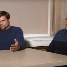 Londonas: Skripalių apnuodijimu įtariamų vyrų interviu yra melas ir įžeidimas
