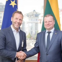 """Premjeras: sveikiname """"Telia Company"""" pasirinkimą plėsti savo veiklą Lietuvoje"""