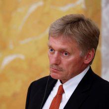 """Kremlius smerkia """"smarkų spaudimą"""" per Interpolo vadovo rinkimus"""