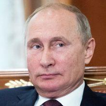 V. Putinas: Rusija panaudos savo branduolinį ginklą tik atsakydama į agresiją