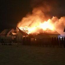 Trečiadienio rytas prasidėjo skaudžia nelaime: Panevėžyje degė namas