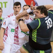 Lietuvos rankininkai pralaimėjimu baigė viešnagę Baltarusijoje