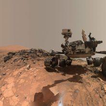 """NASA paskutinį kartą mėgins susisiekti su marsaeigiu """"Opportunity"""""""