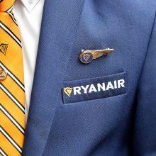 """""""Ryanair"""": europinis streikas bus """"nesėkmingas"""""""