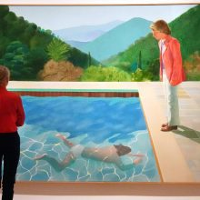 Britų menininko paveikslas gali tapti brangiausiai parduotu dar gyvo menininko darbu